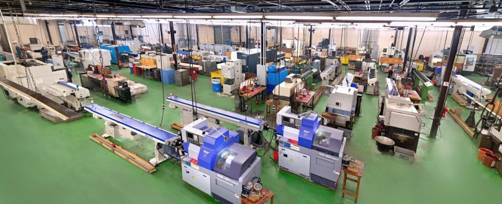 CNC Swiss Turning Machines and Facility