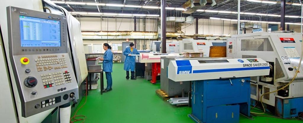 Thuro Metal Products Shop Floor