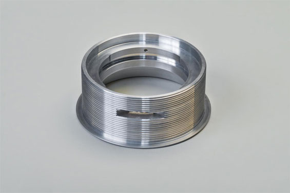 CNC Milling and Turning of a Flange for the Aerospace Industry